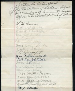 Undated Leithton Petition